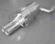Eisenmann Stir up Muffler Exhaust Dual Round Tip Mercedes Clk 200k-5500 W209 Coupe 03+