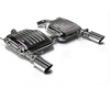 Eisenmann Bring up Muffler Exhaust Dual Tip 90mm Bmw E90-e91 335d Diesel 05+