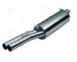 Eisenmann Rear Muffler Exhaust Dual Tip Audi A4 B5 94-01