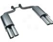 Eisenmann Rear Muffler Exhaust Quad Oval Tip Mervedes S-class W220 S320-s600 99-06