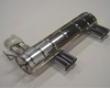 Eiesnmann Rear Muffler Exhaust Quad Rond Dbl Wall Tip 83mm Bmw E46 M3 3.2l 01-06