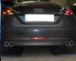 Eisenmann Rear Muffler Exhaust Quad Round T Audi Tt 2.0t Fsi Typ 8j 06+
