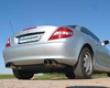 Eisenmann Rear Muffler Exhaust Quad Round Tip Mercedes Slk 200k R171 04-07