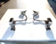 Eisenmann Rear Muffler Exhaust Quad Round Tip 76mm Mercedes Sl350-500 R230 02-06