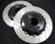 Evosport Drillef And Slotted Rear Rotor Kit Mercedes Clk63 Amg 03+