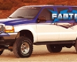 Fabtech 5.5in Performance System Ford Excursion 4wd Aeriform fluid & 6.0l Diesel 00-05