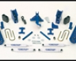 Fabtech 6in Basic Lifting System Dirt Logic Shocks Ford F-250 Super Duty 05-07