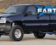 Fabtech 7in Crossmember System Chevrolet Silverado 1500 2wd Crew Cab 04-06