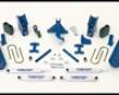 Fabtech 8in Basic System Dirt Logic Shocks Ford F-250 4wd Super Duty 05-07