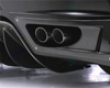 Fabulous Carbon/frp Rear Exhaust Cover Ferrari 430