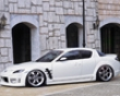 Fabulous Full Body Violin Mazda Rx8 03-07