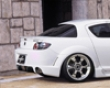 Fabulous Rear Wing Mazda Rx8 03-07