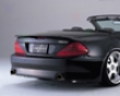 Fabulous Rear Wing Mercedes Sl Class Amg R230 03-07