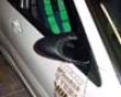 Ganador Carbon Fiber Super Mirror With Blue Lens Mitsubishii Evo Vii Viii Ix 02-07