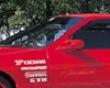Ganador Suprr Mirror With Blue Lens Mazda Rx7 Fc 86-92