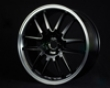 Gram Lights 75 Ultimate Black Wheel 17x7.0 4x100