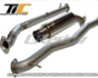 Greddy Competition Ti-c Turboback Exhaust System Mitsubishi Evo X 08+