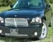 Grillcraft Mx Series Bumper Grille Set in Dodge Charger 06-08