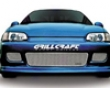Grillcraft Mx Series Lower Center Grille Honda Civic Coupe 92-95