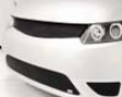 Grillcraft Mx Series Degrade Grille Set in Honda Civic 2dr 06-08