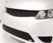Grillcraft Mx Series Upper Grille Set in Honda Civic 2dr 06-08