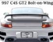 Gt2 Style Arrow On Rear Wing Porsche 997 05+