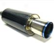 Hks Carbon Titanium 170mm Muffler Universal