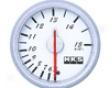 Hks Db Temperature Meter 60mm Mechanical White