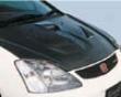 Ings Aero Hood Carbon Honda Civic 12/01-09/04