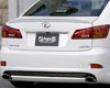 Ings Lx Sport Rear Half Spoiler Frp Lexus Is350 9/05+