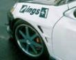 Ings N-spec Front Aero Wide Fenders Frp Acura Rsx 9/04+