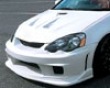 Ings N-spec Front Bumper Frp Acura Integra 7/01-8/04