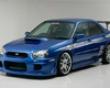 Ings N-spec Front Bumper Frp Subaru Wrx Sti 6/04-5/05