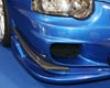 Ings N-spec Front Canards Carbon Subaru Wrx Sti  08+