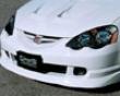 Ings N-spec Front Half Spoiler Carbon Acura Integra 7/01-8/04