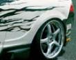 Ings N-spec Rear Aero Wide Fenders Frp Acura Rsx 9/04+