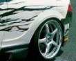 Ings N-spec Rear Aero Wide Fenders Frp Acura Integra 7/01-8/04