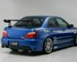 Ings N-spec Rear Bumper Frp Subaru Wrx Sti 6/04-5/05