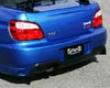 Ings N-spec Rear Bumper Hybrid Subaru Wrx Sti 6/04-5/05