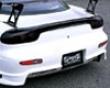 Ings N-spec Rear Bumper With Slit Frp Mazda Rx7 10/91-4/03