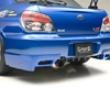 Ings N-spec Rear Mud Guard Frp Subaru Wrx Sti 06-07