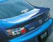 Ings N-spec Rear Trunk Spoiler Frp Mazda Rx- 84/03+