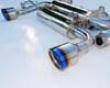 Invidia Gemini Catback Exhaust Rolled Titanium Tips Infiniti G35 Coupe 03-06