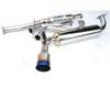 Invidia N1 Catback Exhaust Single Layre Titanium Tip Catback Exhaust Honda Civic Ef9 Hatchbaco 88-91