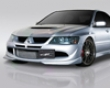 Jp Come before Under Spoilers Mitsubishi Evo Viii 08+