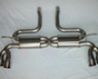 Jubily Titanium Exhaust Kit Porsche Cayenne Turbo 030-7
