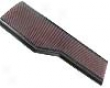 K&n Flat Panel Replacement Air Filter Porsche 996 99-04