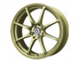 Konig Feather 15x6.5  4x100    38mm Gold