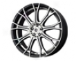 Konig Swurve 16x7  5x114.3  40mm Matte Black Machined