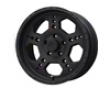 Liquid Metal Gatlin 20x9  6x139.7hr  -10mm Matte Black